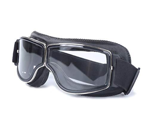 Daesar Sportbrille Radfahren Schwarz Klar Motorrad Brille Selbsttönend Schutzbrille Schießsport