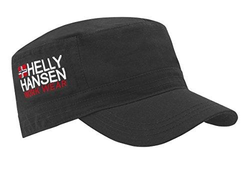Helly Hansen Workwear Schildmütze Logo Cap, robuste hochwertige Kappe, Baumwolle, rot, 79804