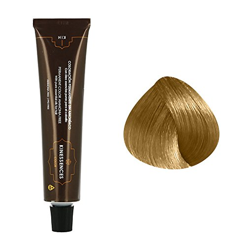Coloration permanente sans ammoniaque aux 5 huiles 9.3 : Blond Très Clair Doré Kin Cosmetics