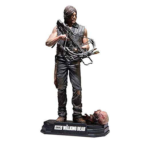 YYQIANG The Walking Dead Rick/Daryl/Negan Action-Figur (Color : Daryl)