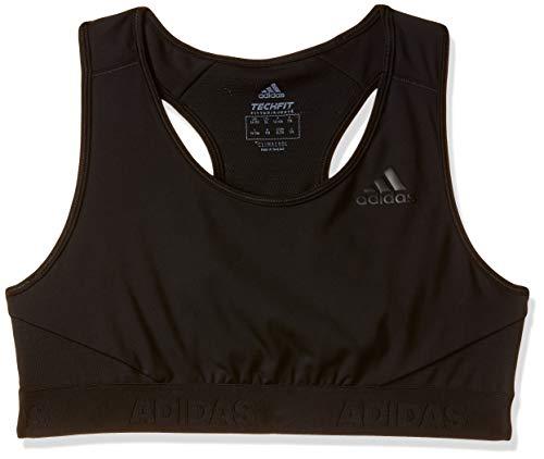 adidas Mädchen Sport BH mit Leichter Unterstützung Alphaskin, Black, 170, CF7204