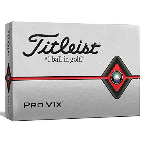 Titleist Pro V1x Golfball, Herren, Herren, T2046S, weiß, Unica