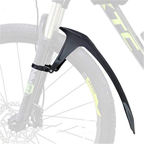 Guardabarros Mtb 24 26 27,5 29 pulgadas MTB barro Ala Guardabarros delantero de goma suave TPE posterior de la bicicleta for la bicicleta de bicicletas de montaña de la Guardia accesorios defensa Guar
