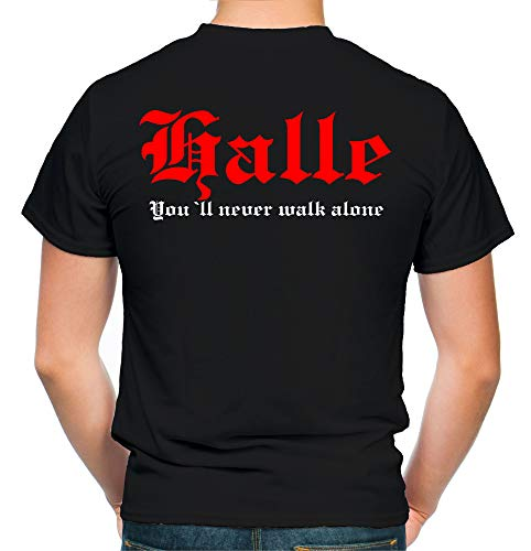 Halle Kranz T-Shirt | Liga | Trikot | Fanshirt | Bundes | M2 (M)