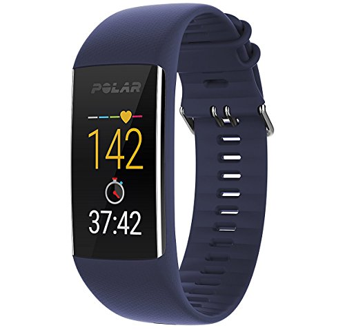 Polar A370 Fitness Tracker with 24/7 Wrist Based HR Blue, Medium/Large