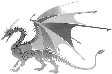 3D Fire Dragon Stainless Steel Mi Mobility Purchase Max 41% OFF Joint Skeleton Puzzle