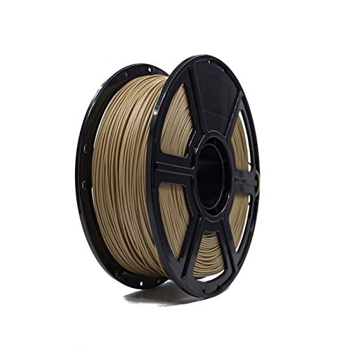 JIAN LIN Stampante 3D Filamento in legno PLA 1.75mm 1KG Bobine di legno rotolo di plastica