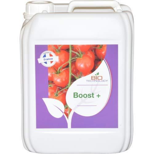 Bio Technology®   Fertilizante Aditivo para Floración   Acelerador de Madurez   Estimulador para Flores   Estimulador de Alto Rendimiento Boost + - 5 L