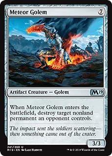 Magic: The Gathering - Meteor Golem - Core Set 2019