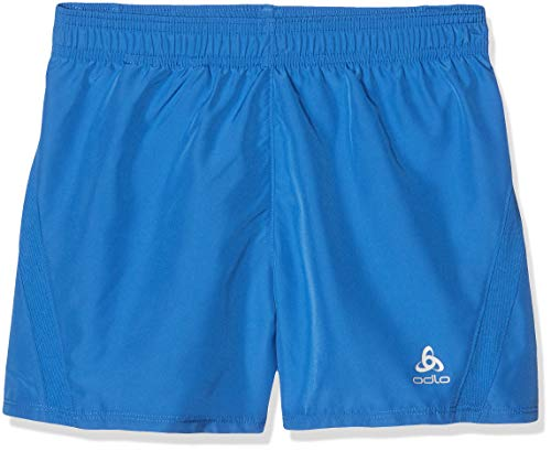 Odlo Jungen Shorts with Inner Brief Boys Light, nebulas Blue, 128