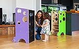 Torre di apprendimento/lavagna/seggiolone di Leea Toys con...
