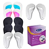 (12 Pieces) Arch Support Shoe Inserts for Flat Feet,Plantar Fasciitis,Relieve Pain for Women and...