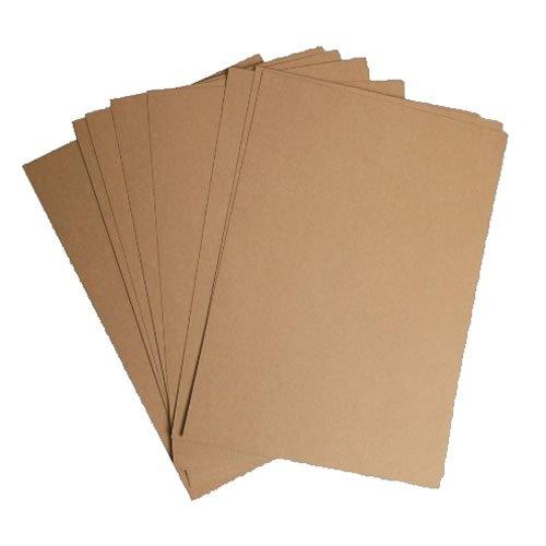 50 feuilles de papier kraft recyclé A4 100 g m²