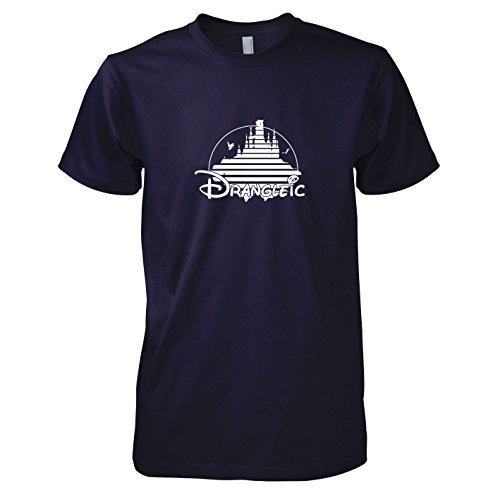 Texlab - Drangleic - Herren T-Shirt, Größe XL, Navy