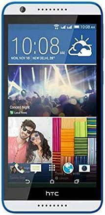 HTC Desire 820-16GB, 4G LTE, White and Blue