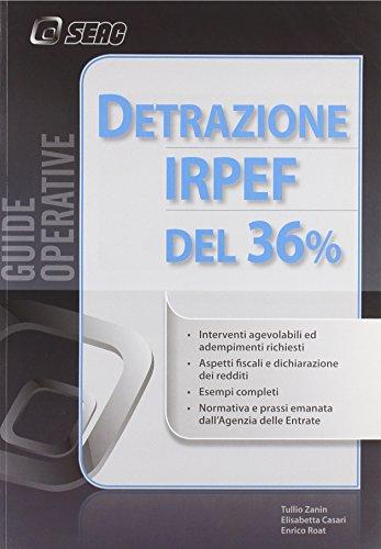 Detrazione Irpef del 36 per cento