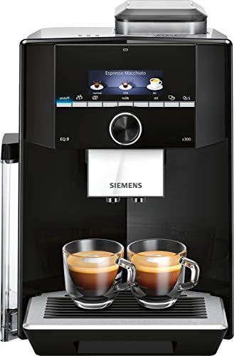 Siemens Electroménager TI923309RW EQ.9 plus S300 Automatyczny Ekspres do Kawy, Stal Nierdzewna/Tworzywo Sztuczne, 1500 W, 2,3 Litra, Czarny/Inox