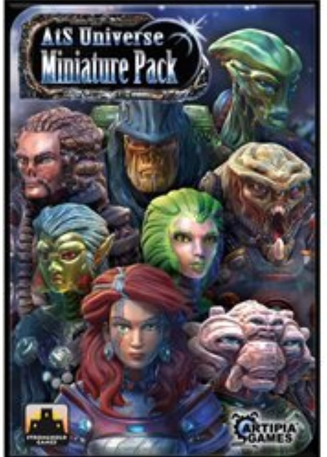 Among The Stars Miniatures Pack by Stronghold Games