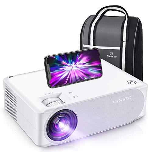 VANKYO プロジェクター1080P WIFI/5Gワイヤレス接続 300インチ大画面 4Dデータ台形補正 ズーム機能 タブレット/パソコン/ DVD/ TV Stick /iPhone/Android/ゲーム機に対応 ホームシアター/ビジネスに適用 専用バッグと日本語説明書付V630W (白)