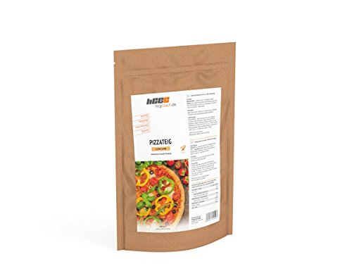 hCG Pizza, Low Carb Pizzateig (150 g), nur 1,6 g KH, Glutenfrei, Sojafrei, Hefefrei, proteinreich, ohne Zusatzstoffe
