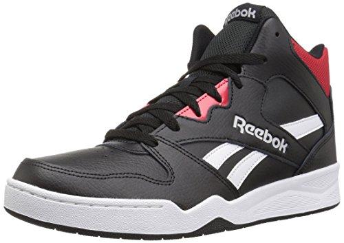 Reebok Men's Royal Bb4500 Hi2 Walking Shoe, Black/White/Primal red/Light, 11 M US