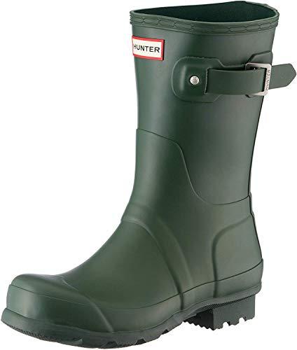 HUNTER Damen Low Wellington Boots Gummistiefel, Grün (Green HGR), 40/41 EU