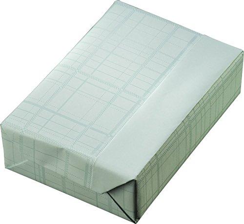 Woerner 130387 Geschenkpapier Rolle, 50 cm x 200 m, karo mint