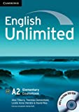 English Unlimited Elementary Coursebook with e-Portfolio CD-ROM and Workbook with answers and DVD-ROM Pack