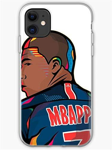 PEWORWEY Case/Handyhülle/Hülle/Coque/Custodia/Carcasa/Cover/Shell,Mbappe DIY Phone Case for iPhone 6/6S, Kylian-Mbappé,[M765-2022]