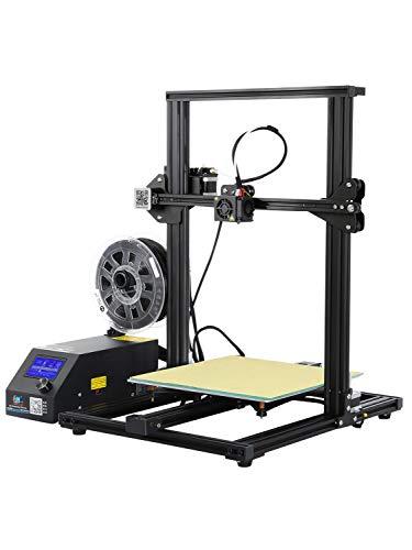 W.Z.H.H.H Imprimante 3D Imprimante 3D CR-10S avec Carte de contrôle Mise à Niveau et Moniteur à Filament, Double vis Z