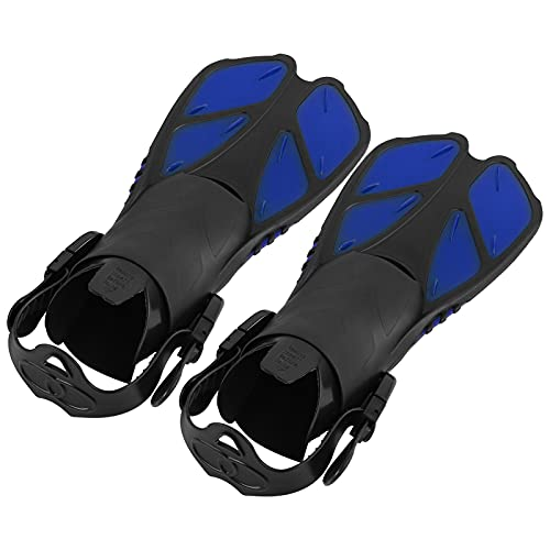 minifinker Aletas de Snorkel, Aletas de natación Antideslizantes para Nadar para natación Prolongada(SG)