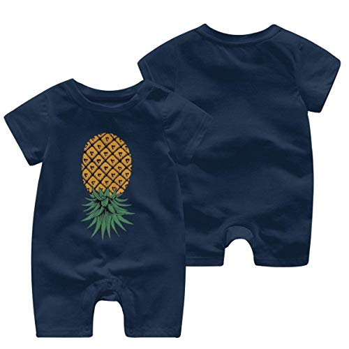 Girls 2 Years Little Boys Flamingos Pineapple Hawaiian Soft Shirts Tropical Standard-Fit Tops Clothes Outfits Absorb Sweat Blouse 2-3T