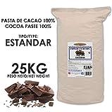 Cacao Venezuela Delta - Chocolate Negro Puro 100% · Tipo Estándar (Pasta, Masa, Licor De Cacao 100%) · 25kg