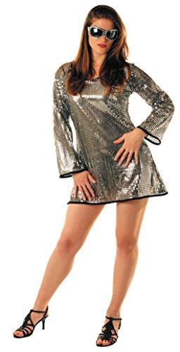 Party Pro- Robe paillette argent, Womens, 865091711, M/L