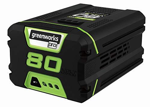 Greenworks Lithium-Ionen Akku Pro 80 V 2 Ah mit Schnellladefunktion Ersatzsakku