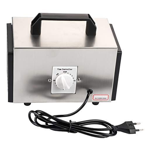 Haofy Generador de ozono 20 g/h Interruptor de sincronización ozonizador Purificador de Aire Máquina generadora de ozono Enchufe de la UE 220 V
