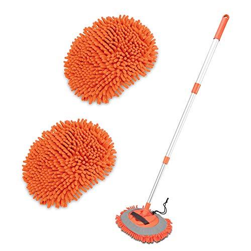 2 in 1 Chenille Microfiber Car Wash Brush