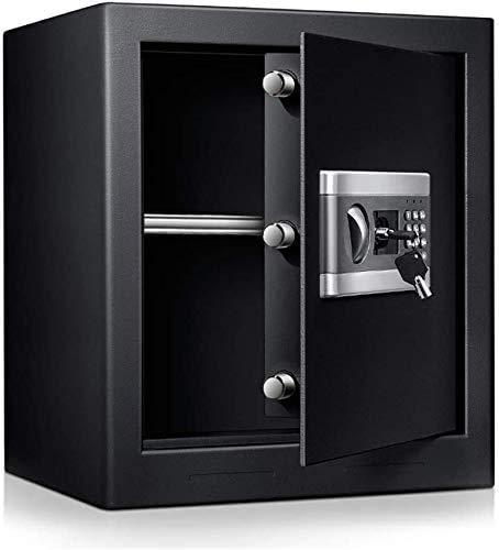 Tresor Safe mit Schlüssel Safe Cabinet TOPQSC Feuerfest und wasserdicht Elektronisches Passwort Safe Digital Triple Lock Core Box Home Office Safe für Bargeld Schmuck (1,0 Kubikfuß)