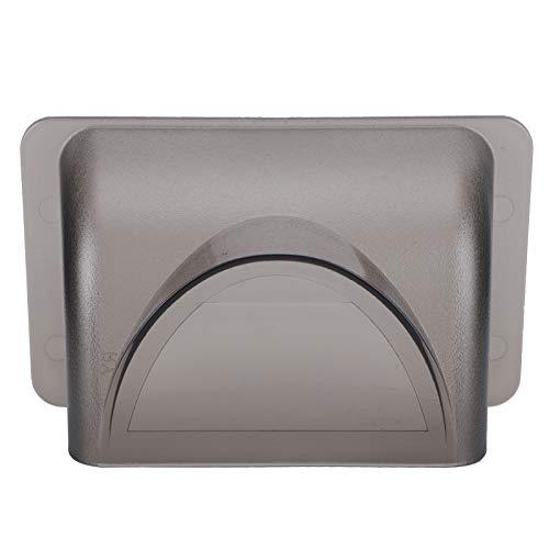 Jacksing Türklingel-Regenschutz, feuerfester PVC-Kunststoff-Regenschutz, UV-sicherer Safe für die Haustür