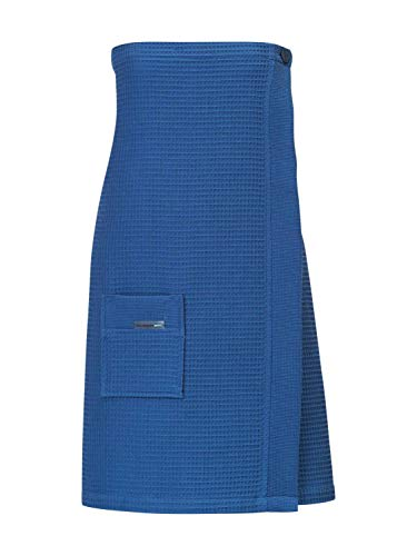 Taubert Thalasso Soft Piqué Damen Sauna Kilt, Länge 75cm Damen, 4590 jeans