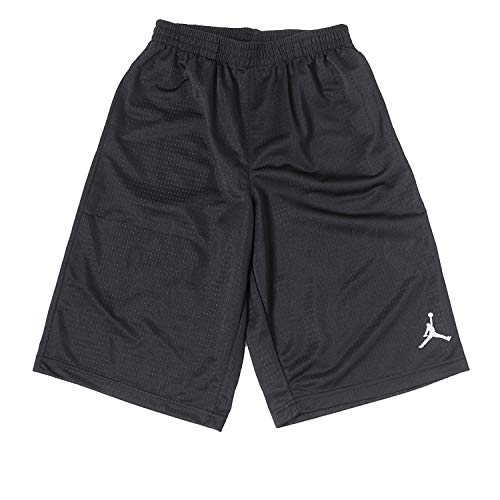 NIKE JORDAN Boys/' Basketball Shorts Colourblock Red//Black 12-13 Years