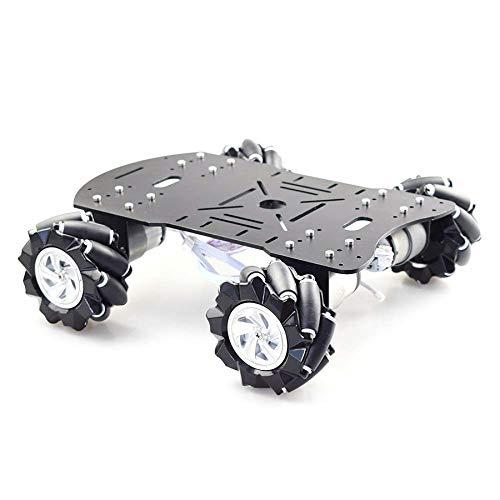 Naliovker Mecanum Wheel Robot Auto Chassis Kit mit 12V Encoder Motor für Raspberry Pi DIY Projekt STEM Toy