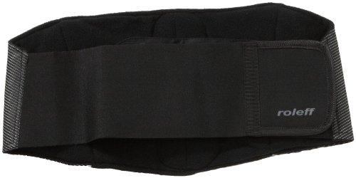Roleff Faja Lumbar para Motorista Racewear, Negro, XL