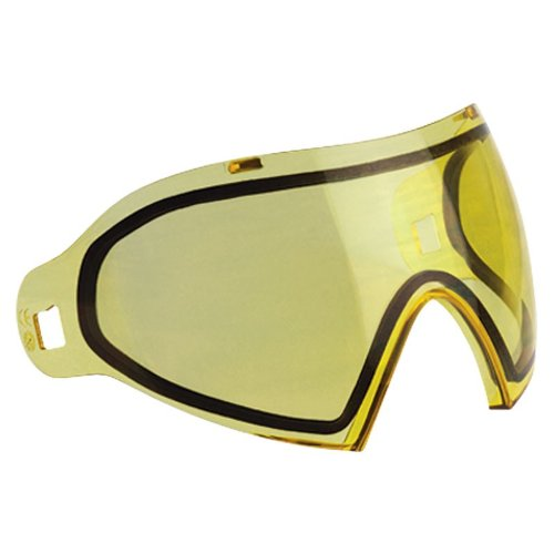 Dye Erwachsene Paintball Maskenglas I4 Thermalglas, Gelb, One Size