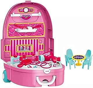 BABY BOSS - Beauty set playset 23 pcs - Girls beauty trolley set
