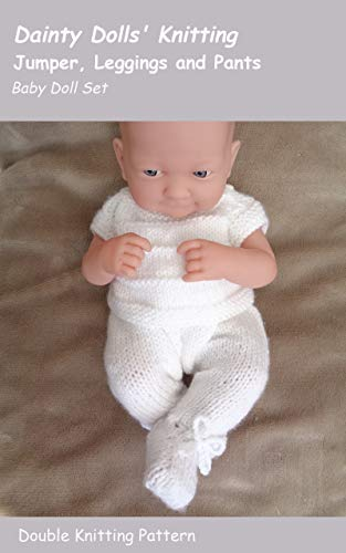 Knitted Jumper and Leggings Set for a Baby Doll (English Edition)