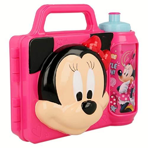 Disney Minnie Mouse Pausen-Set Brotdose + Trinkflasche