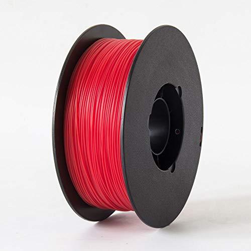 Filamento Para Impressora 3D Pla Flexível Vermelho 1Kg, FLASHFORGE, 29979