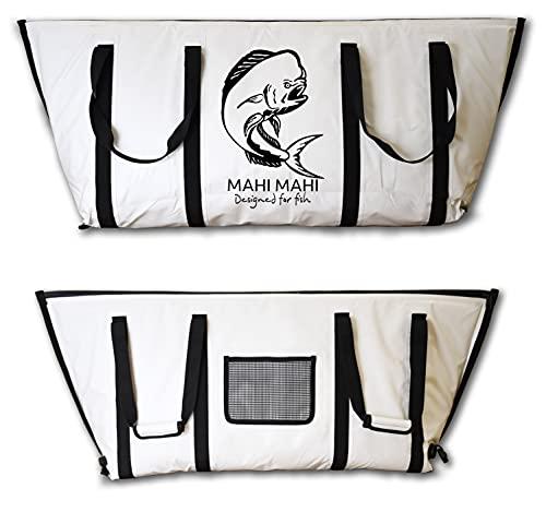 Nevera portátil, iglo, Plegable, Gigante, Termo sellada para Pesca. Nevera de PVC para Grandes capturas de Pesca by MAHIMAHI (120 CM)