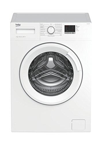 Beko WML 61423 N Waschmaschine Frontlader / 6kg / A+++ / 1400 UpM / Mengenautomatik / 15 Programme / Express-Programm 30 Minuten / elektronische Kindersicherung